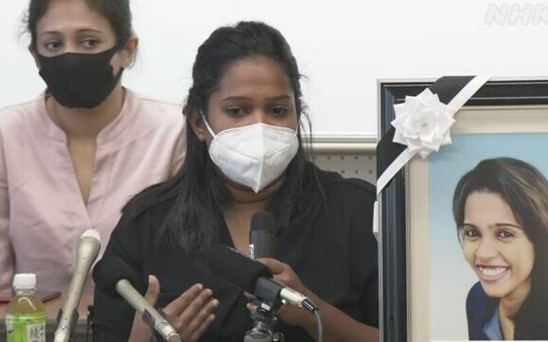 名古屋入管でスリランカ人の女性が原因不明で死亡している詳細