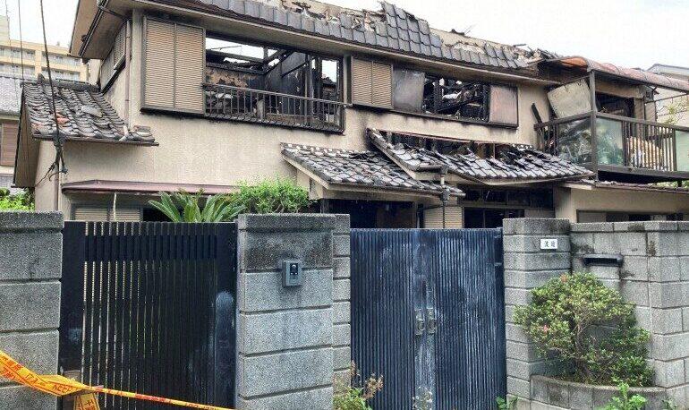 千葉県船橋市の住宅火災が発生したのは放火殺人だと判明