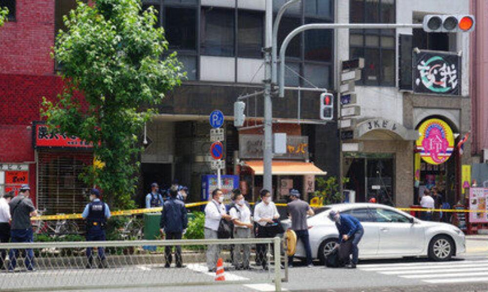 大阪市北区天神橋の雑居ビルで女性経営者が刃物で刺され店内で死亡