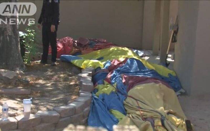 アメリカ西部のニューメキシコ州で熱気球の墜落事故があり5人が死亡