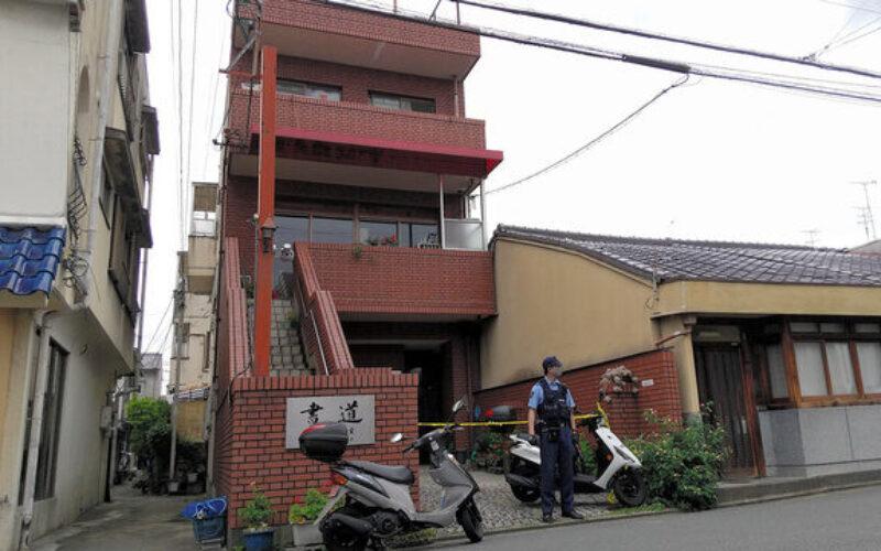 京都市上京区にある住居で交際女性を殺害した男を逮捕