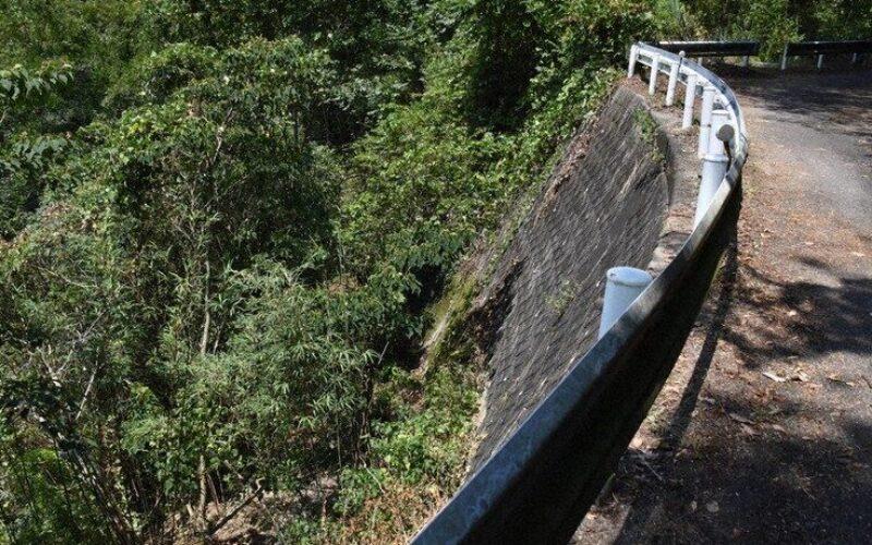 香川県綾川町にある田万ダム付近の斜面に遺棄されていた男性の遺体