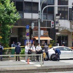 大坂市北区天神橋の雑居ビルで営業していたカラオケパブ店主刺殺事件