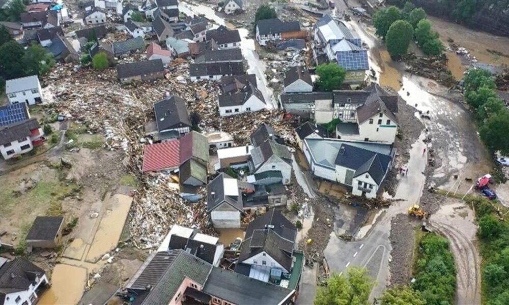 西ヨーロッパ諸国で集中豪雨が観測され少なくみても42人が死亡