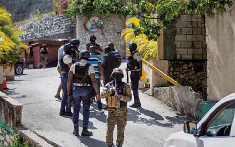 カリブ海のハイチで武装集団が大統領邸に侵入して室内にいた関係者を暗殺