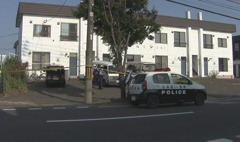 札幌市白石区のアパート駐車場で父親を刃物で滅多刺しにした長男を逮捕