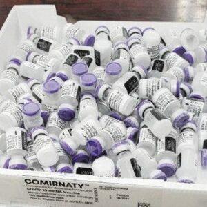 医療機関で冷蔵庫に保管されたワクチンが廃棄処分