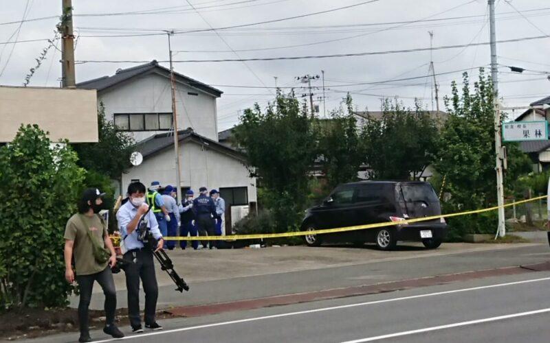 福島県いわき市の路上で男性が刃物で刺されて死亡した殺人事件