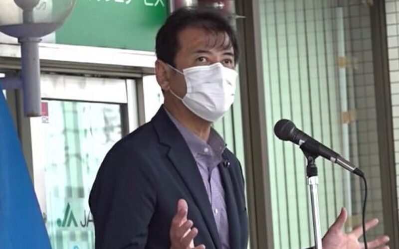 福井県越前市の住宅前で辻一憲県議が頭から血を流し意識不明