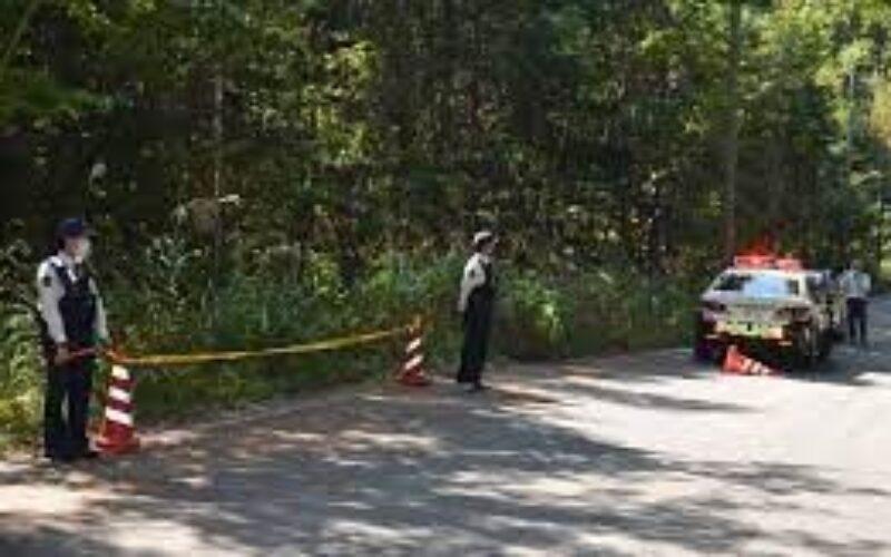 山梨県笛吹市にある林道に暴行を加えられて死亡している女性の遺体