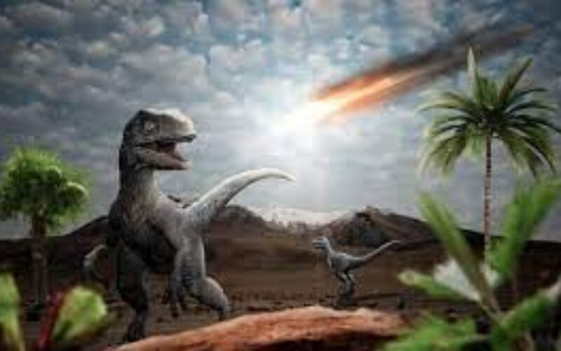 惑星が地球の大気圏内に突入し落下した影響で生存していた生命が大量絶滅