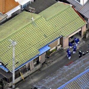 愛媛県新居浜市にある住宅で刃物を持った男が3人を襲って殺害